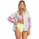 Billabong Womens Whirlwind Jacket-Aqua-S