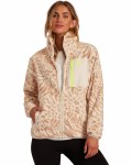 Billabong Womens Switchback Full Zip Fleece-Birch-S