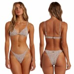 Billabong Womens Wild Shadows Reese Underwire Bikini-Chocolate-S