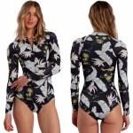 Billabong Womens Salty Dayz LS Spring Surfsuit-Maui Black-4