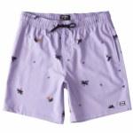 Billabong Mens Sundays Layback Boardshort-Light Lavender-S