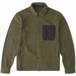 Billabong Mens Furnace Explorer Fleece-Dark Olive-M