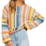 Billabong Womens Seeing Double Sweater-River-S