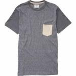 Billabong Zenith Short Sleeve Crew Shirt Boys-Asphalt-XL