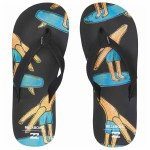 Billabong Stoked Sandal Boys-Black Blue-2