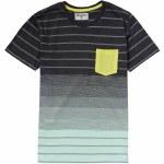 Billabong Faderade Short Sleeve Crew Shirt Boys-Asphalt-M
