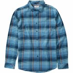 Billabong Coastline Flannel Shirt Boys-Blue-XL