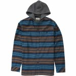 Billabong Baja Flannel Shirt Boys-Navy-L