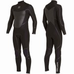 Billabong 403 Absolute X Chest Zip Full Suit-Black-MT