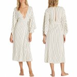 Billabong Robe Life Midi Dress Womens-Cool Wip-S