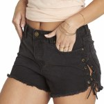 Billabong Tide Out Short Womens -Black Pebble-26