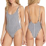 Billabong Get In Line One Piece Swimsuit Womens-Multi-S