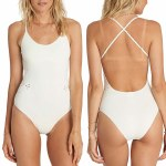 Billabong Bright One One Piece Swimsuit Womens-Sea Shell-S