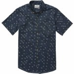 Billabong Sundays Mini Short Sleeve Woven Top Boys-Deep Sea-L