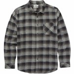 Billabong Freemont Flannel Long Sleeve Yarn Dye Flannel Woven Top Boys-Black-L