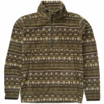 Billabong Boundary Mock Half Zip Fleece Sweater With DWR Coating-Raven-M