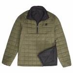 Billabong Boundary Reversible Puffer Jacket-Military-M