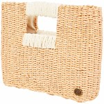Billabong Coastal Dayz Straw Purse-Wild Honey-OS