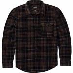 Billabong Mens Furnace Flannel Long Sleeve Woven-Black-M