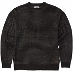 Billabong Mens Rambler Crew Sweatshirt-Black Heather-M