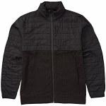 Billabong Mens Boundry Zip Fleece-Black-S