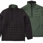 Billabong Mens Boundry Reversible Puffer Jacket-Black-S