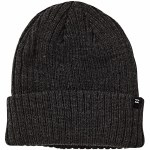 Billabong Mens Arcade Beanie-Black Heather-OS