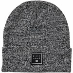 Billabong Mens Stacked Heather Beanie-Black-OS