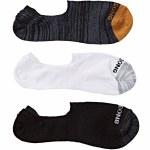Billabong Mens Mixed Bag Invisible Sock-Mixed-OS