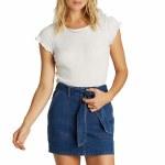 Billabong Womens Live Simple Skirt-Deep Indigo-27