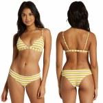 Billabong Womens Sunny Rib Tri Bikini Top-Multi-S