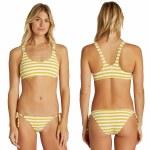 Billabong Womens Sunny Rib Tropic Bikini Bottom-Multi-S