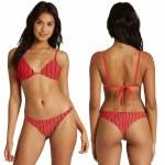 Billabong Womens Hot For Now Tanga Bikini Bottom-Fuego-S