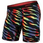BN3TH Mens Classic Boxer Brief Print Underwear-Wild Tiger-M