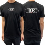 The Boardroom Mens Classic Oval Short Sleeve T-Shirt-Black-S