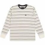 Brixton Mens Hilt Pocket Long Sleeve T-Shirt-Dove-S
