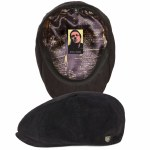 Brixton Mens Strummer Brood Hat-Black-M