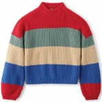 Brixton Womens Madero Sweater-Rose Red-XS