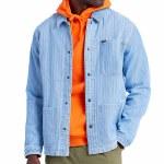 Brixton Mens Survey Reserve Chore Coat Jacket-Worn Indigo-M