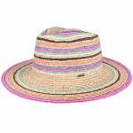 Brixton Womens Joanna Stripe Hat-Vanilla Mix-S