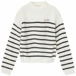 Brixton Womens Hilt Sweater-White-S