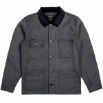 Brixton Silas Relaxed Fit Jacket-Charcoal-M