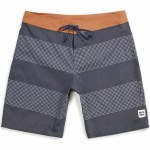 Brixton Barge Stripe Trunk-Navy/Off White-30