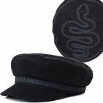 Brixton Fiddler EMB Cap-Black-S/M