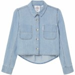 Cheap Monday Land Denim Shirt Womens-Dim Blue-38