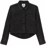 Cheap Monday Land Denim Shirt Womens-Speckled Black-34