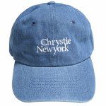 Chrystie NYC. Mens Dad Hat-Washed Denim-OS