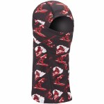 Coal Mens The Storm Shadow Clava Face Mask-Black Print-OS