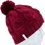 Coal The Rosa Knit Beanie Womens-Wine-OS