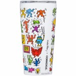 Corkcicle. Keith Haring Tumbler-Pop Party-16oz